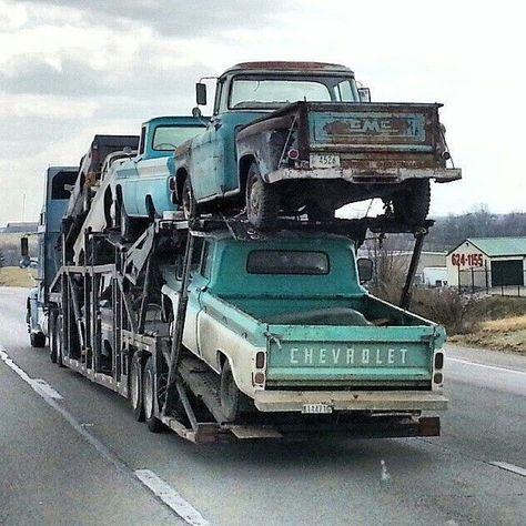 pics of rat rod trucks Old Pickup Trucks, Hot Rod Trucks, Gm Trucks, Cool Trucks, Tow Truck, Dually Trucks, Diesel Trucks, Jeep Pickup, Truck Camping