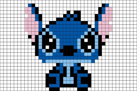 Stitch Disney Pixel Art – Brik Book