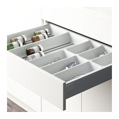 VARIERA Flatware tray white 12x20
