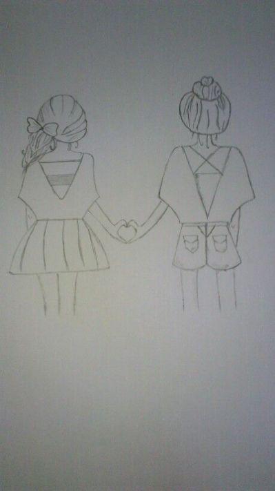 Best 25 Best Friend Drawings Ideas Friends Sketch Best Friend Drawings Bff Drawings