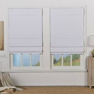 Alcott Hill Hopedale Thermal Lined Curtain Panel Wayfair Blackout Roman Shades Roman Shades Shades Blinds