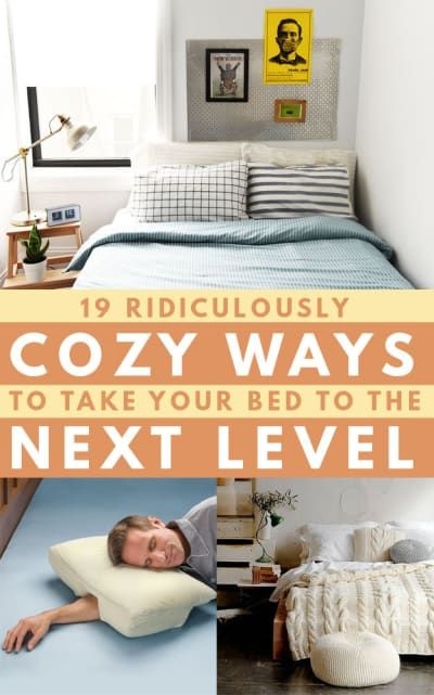 19 Tips To Make Your Bed Even More Cozy Home Decor Bedroom Cozy