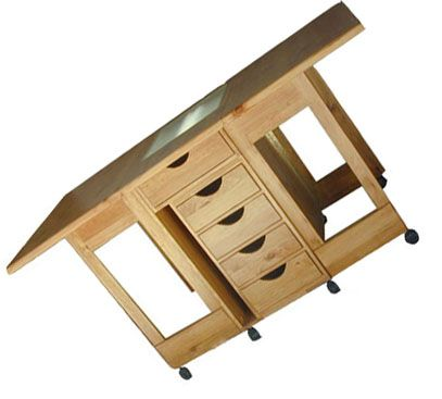 sewing cutting table | sewing space | Pinterest | Sewing rooms ... : folding quilting table - Adamdwight.com