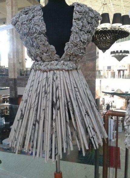 Super dress fashion paper ideas