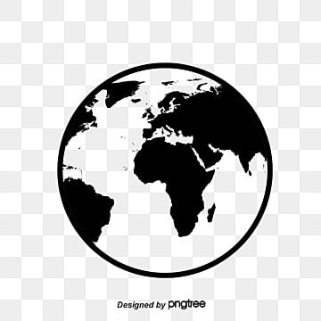 Black Abstract Earth Vector Material Earth Black Earth Simple Earth Png Transparent Clipart Image And Psd File For Free Download Earth Logo Black Abstract Abstract Logo
