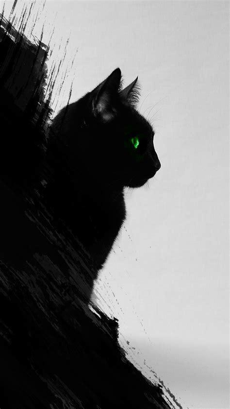 Black Cat Iphone Wallpaper Hd Iphone Wallpaper Cat Cat Wallpaper Cat Background Black cat wallpaper full hd