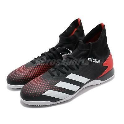Adidas Predator 20 3 In Indoor Black Red Men Soccer Football Shoes Boots Ef2209 In 2020 Football Shoes Shoe Boots Running Shoes For Men