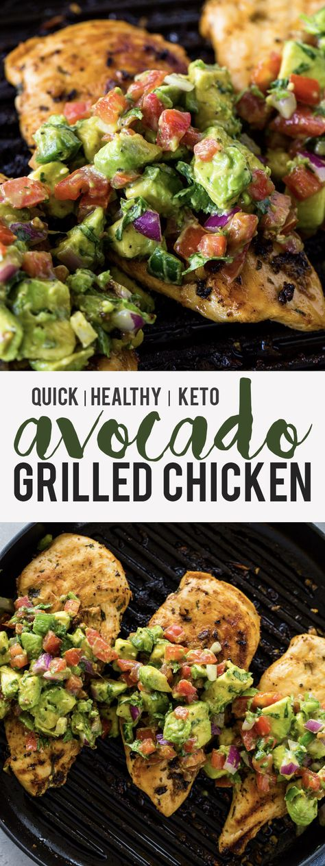 keto avocado grilled chicken These beautiful breakfast, lunch and dinner keto recipes are perfect for those looking to lose weight. These recipes are just the thing for beginners who want to lose weight. healthy dinner 21 Keto Recipes to Lose Weight Fast Grilled Avocado, Keto Avocado, Fresh Avocado, Avocado Salad, Avocado Cake, Avocado Pasta, Tuna Salad, Kale Salad, Pasta Salad