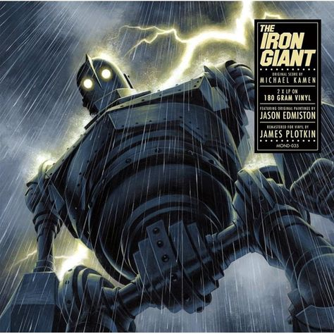 Michael Kamen - The Iron Giant: Original Score on Limited Edition 180g 45RPM 2LP