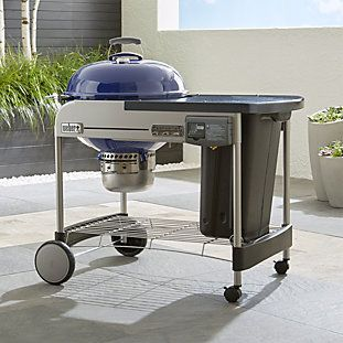 Weber Blue Performer Deluxe Charcoal Grill With Images Outdoor Pizza Oven Kits Pizza Oven Kits Charcoal Grill