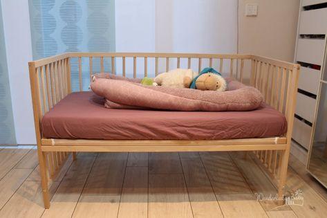 Baby Beistellbett Selbst Bauen Super Gunstig Und Einfach Beistellbett Baby Beistellbett Ikea Babybett