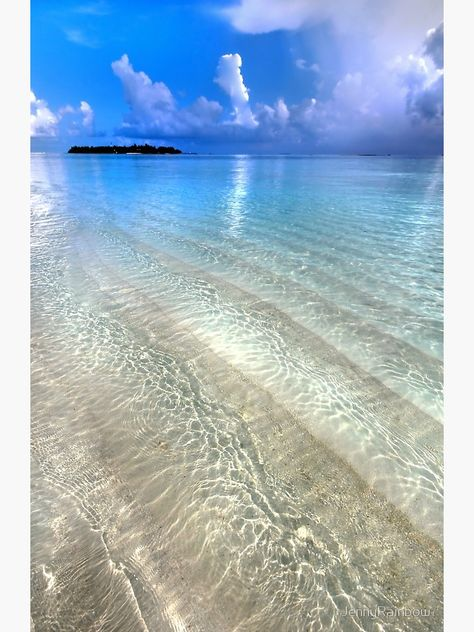 """Crystal Water of the Ocean"" Photographic Print by JennyRainbow 