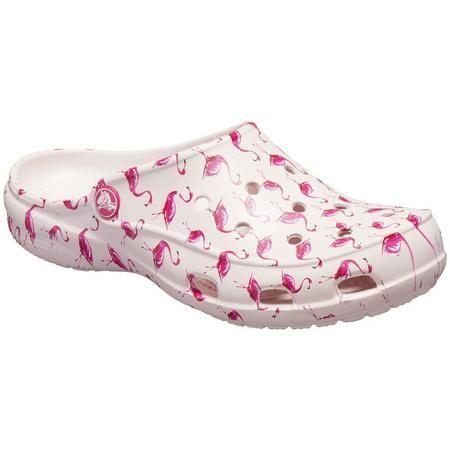 Crocs Womens Freesail Flamingo Clogs