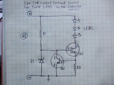 High Power Led Driver Circuits Power Led Led Circuit