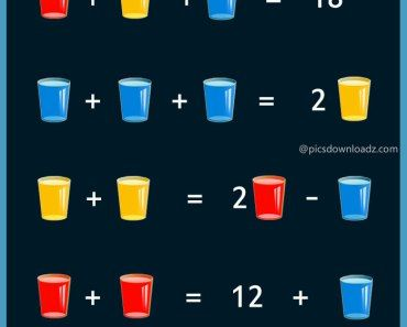 The Glass Puzzle Try To Solve This Brain Teaser Then Click Through For The Answer Maths Puzzles Brain Teasers Math