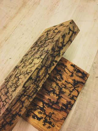 Wood Burning Lichtenberg Figures Bastelprojekte Projekte Und Basteln