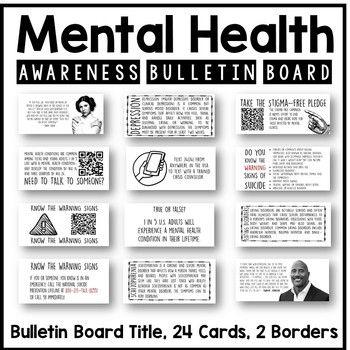 Mental Health Awareness Bulletin Board