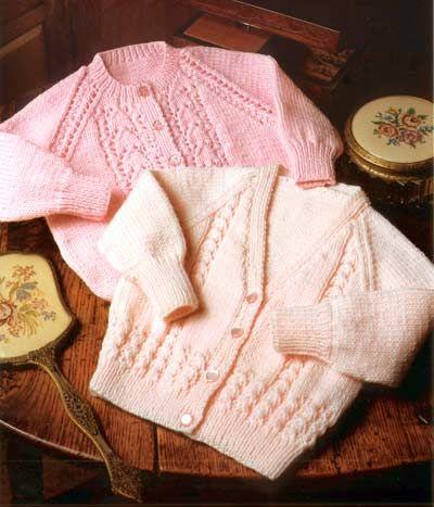 Knitting Pattern Baby Hoodie Cardigan Jacket Waistcoat Dk King