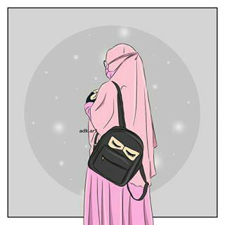 100 Best Kartun Muslimah 2 Images Anime Muslim Hijab Cartoon Muslim Girls