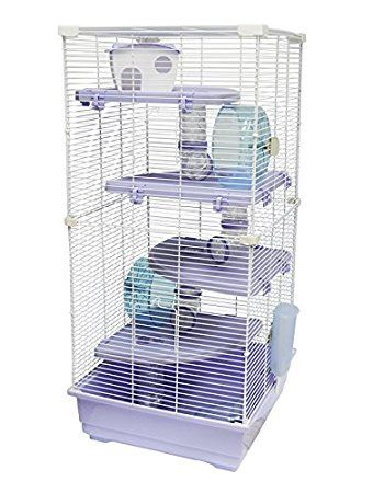 Heritage Park Extra Large 4 Platform 5 Storey Hamster Rat Gerbil Animal Cage Gerbil Mouse Cage Hamster