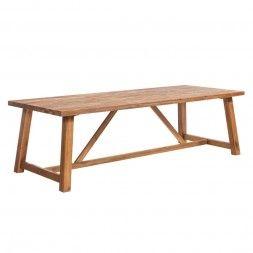 Outliv Marbella Gartentisch 250x100 Cm Akazie Teak Look Gartentisch Gartentisch Holz Massiv Gartentisch Holz