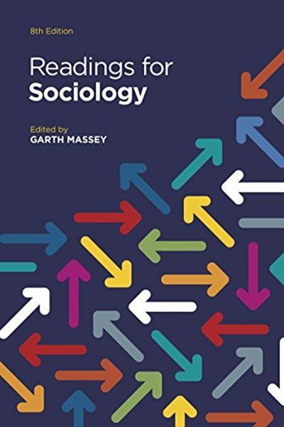 Readings For Sociology By Garth Massey W W Norton Company Sociology Sociology Books Social Science