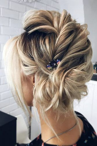 Inspiration For Wedding Updos For Short Hair Length Wedding Forward Short Hair Updo Short Wedding Hair Wedding Hair Inspiration