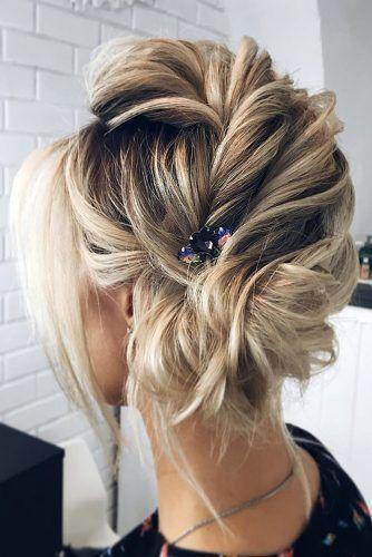 Inspiration For Wedding Updos For Short Hair Length Wedding Forward Short Hair Updo Short Wedding Hair Hair Lengths