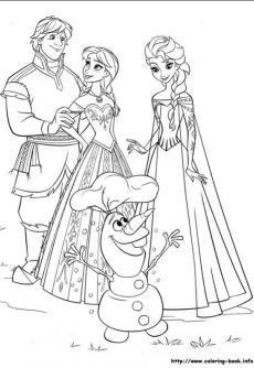 ภาพวาดระบายส ราช น ห มะ 35 Kids Coloring Books Elsa Coloring Pages Disney Coloring Pages