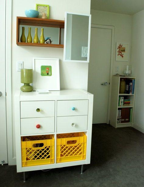 Ikea Expedit Dresser for baby   Future Studio Space   Pinterest ...