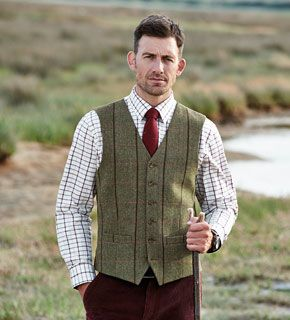 Samuel Windsor Mens Velvet Waistcoat