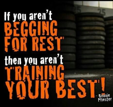 #train to be your #best