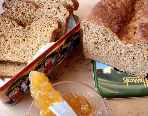 Zucchini Apricot Bread