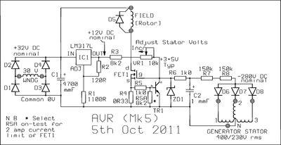 wiring diagram generator avr