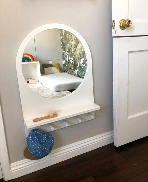 Montessori Toddler Bedroom, Montessori Playroom, Montessori Baby, Coastal Master Bedroom, Baby Bedroom, Kids Bedroom, Room Baby, Big Girl Rooms, Boy Room