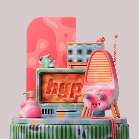 3D still life by Siddhant Jaokar