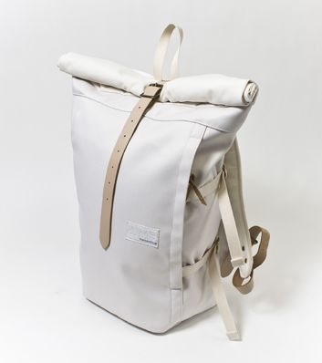 Nanamica - Cycling Pack:  Not a cheap cycling bag by any stretch of the imagination, but beautifully designed. White option's probably best for non-wet weather.