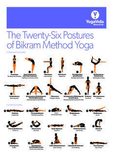 Download The Bikram Yoga Posture Guide Pdf Here Yoga Vida Bikram Yoga Postures Bikram Yoga Poses Bikram Yoga