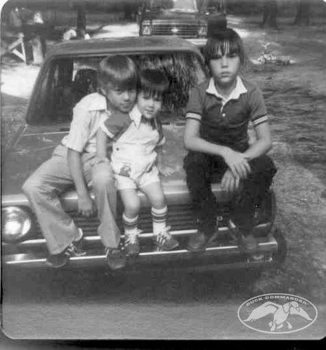 Robertson Boys back in the day. #Robertsonfamily #DuckDynasty #DuckCommander