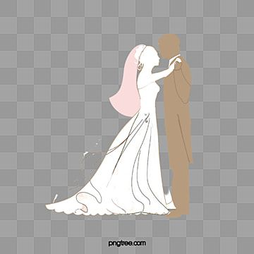 Bride And Groom Bride Clipart Cartoon Dancing Girl Png Transparent Clipart Image And Psd File For Free Download