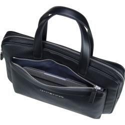 TOMMY HILFIGER TH Metropolitan Computer Bag Laptoptasche Tasche Black Schwarz