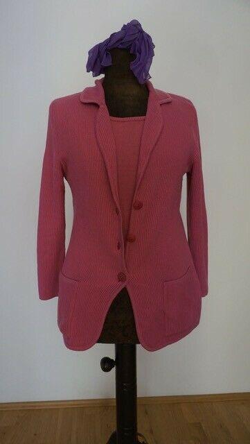 Madeleine Retro Twinset Damen Blazer Top Pink Gr 42 In 2020 Damen Blazer Jacken