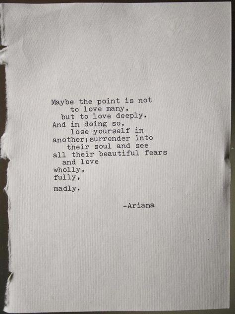 Poetry love poem original typography art typographic print | Etsy
