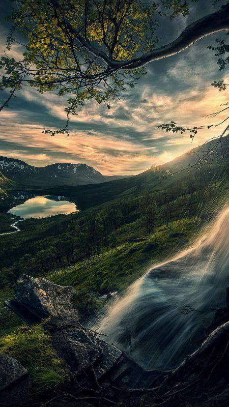 Vodopad Pejzazhi Prirody V 2020 G Pejzazhi Letnie Fotografii