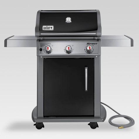 Weber Spirit 3 Burner Natural Gas Grill Black Model 4 75100001e8 Best Gas Grills Grilling Propane Gas Grill