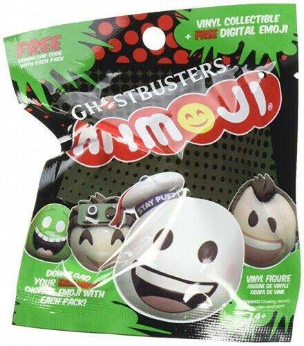 Mymoji Ghostbusters Mini Vinyl Figure Blind Bag Multi Colour Funko You Get One Blind Bag Ghostbusters Action Figures Funko
