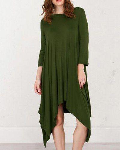 2ac427741828f Loose fish t shirt dress long style short sleeve for teenage girls ...