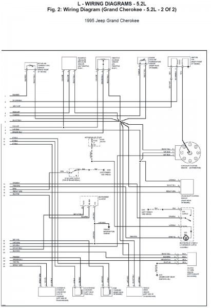 2002 Jeep Grand Cherokee Radio Wiring Diagram | Wiring Diagram Jeep Grand Cherokee Radio Wiring Schematic on