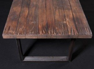 Byron - Tavolo rustico in legno da cucina | Idee per la casa ...