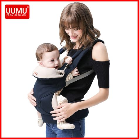 7c7a58e6ff9 UUMU Ergonomic Baby Carrier backpack Holder Sling Wrap no Hipseat  Accessories Hip Seat Chicco Manduca Kangaroo Porta Bebe Price  42.15   FREE  Shipping ...